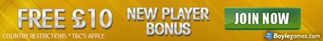 Boylegames bonus no deposit required